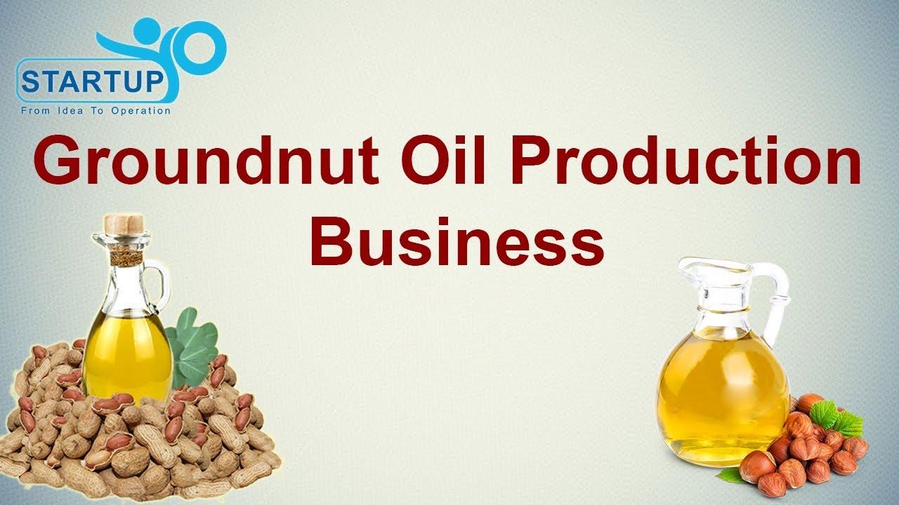 Groundnut Oil Manufacturing in Urdu   Groundnut oil making business