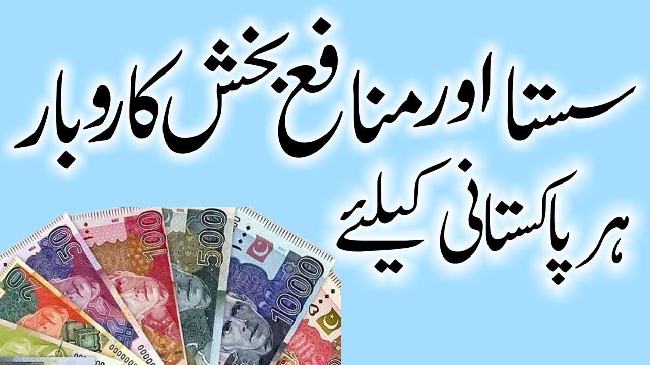 High Profit Small Business ideas in Urdu