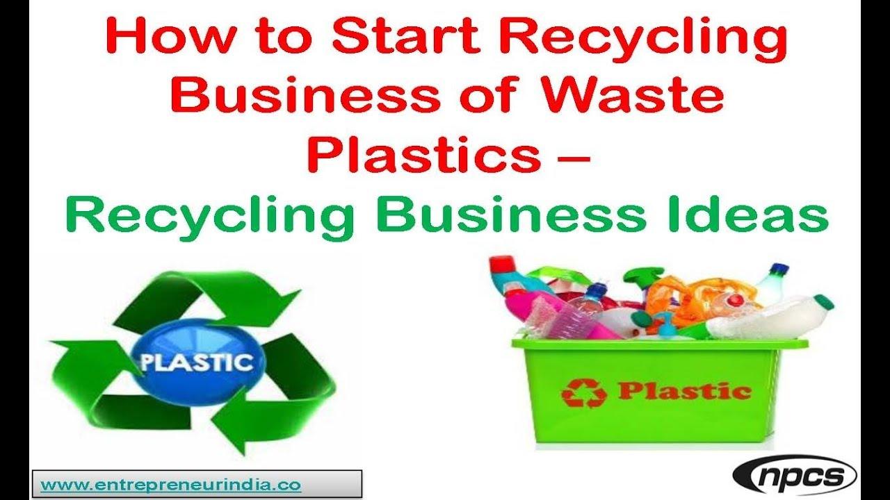 Plastic Recycling Business Plan in Urdu